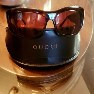 Gucci prescription frame authentic with gold GG